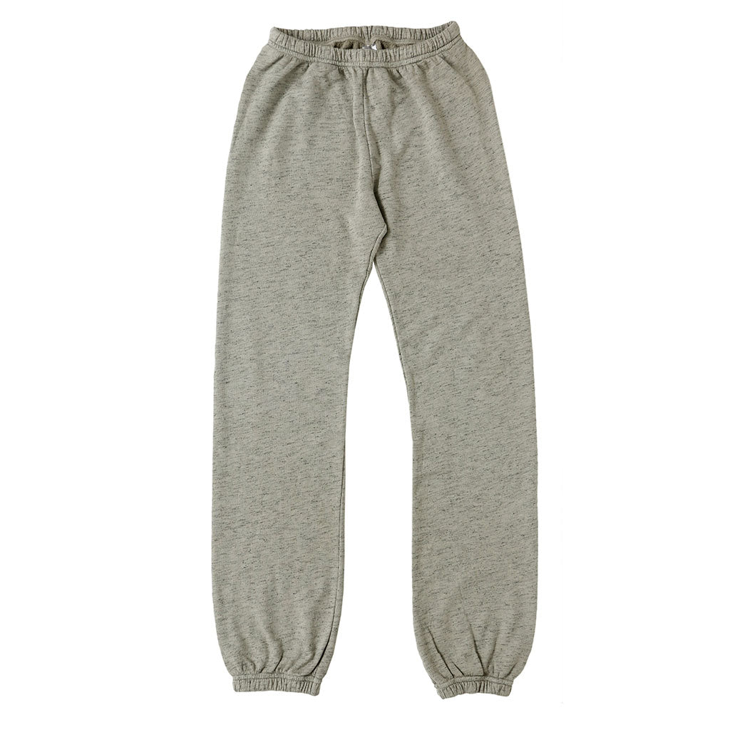 "Streaky French Terry ""Peace"" Sweatpants - Hay"
