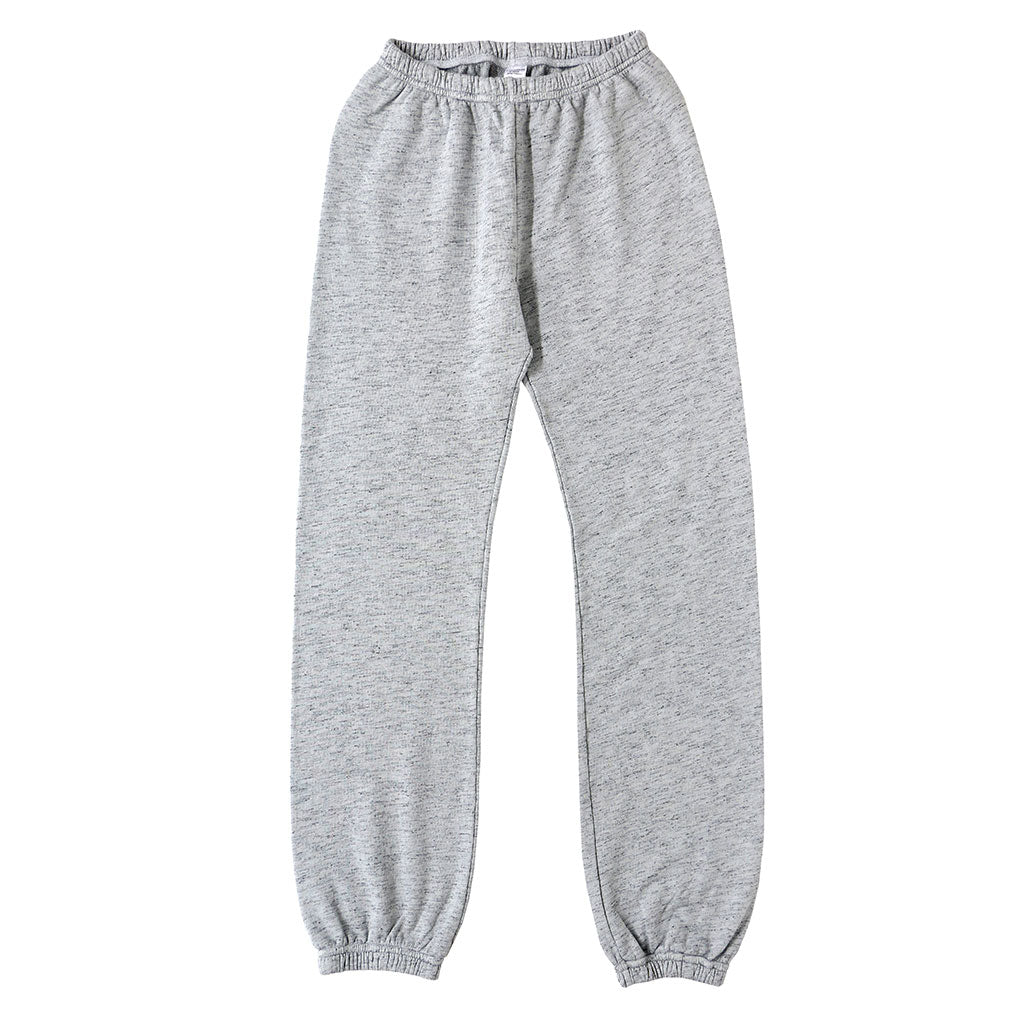 "Streaky French Terry ""Peace"" Sweatpants - Frost"