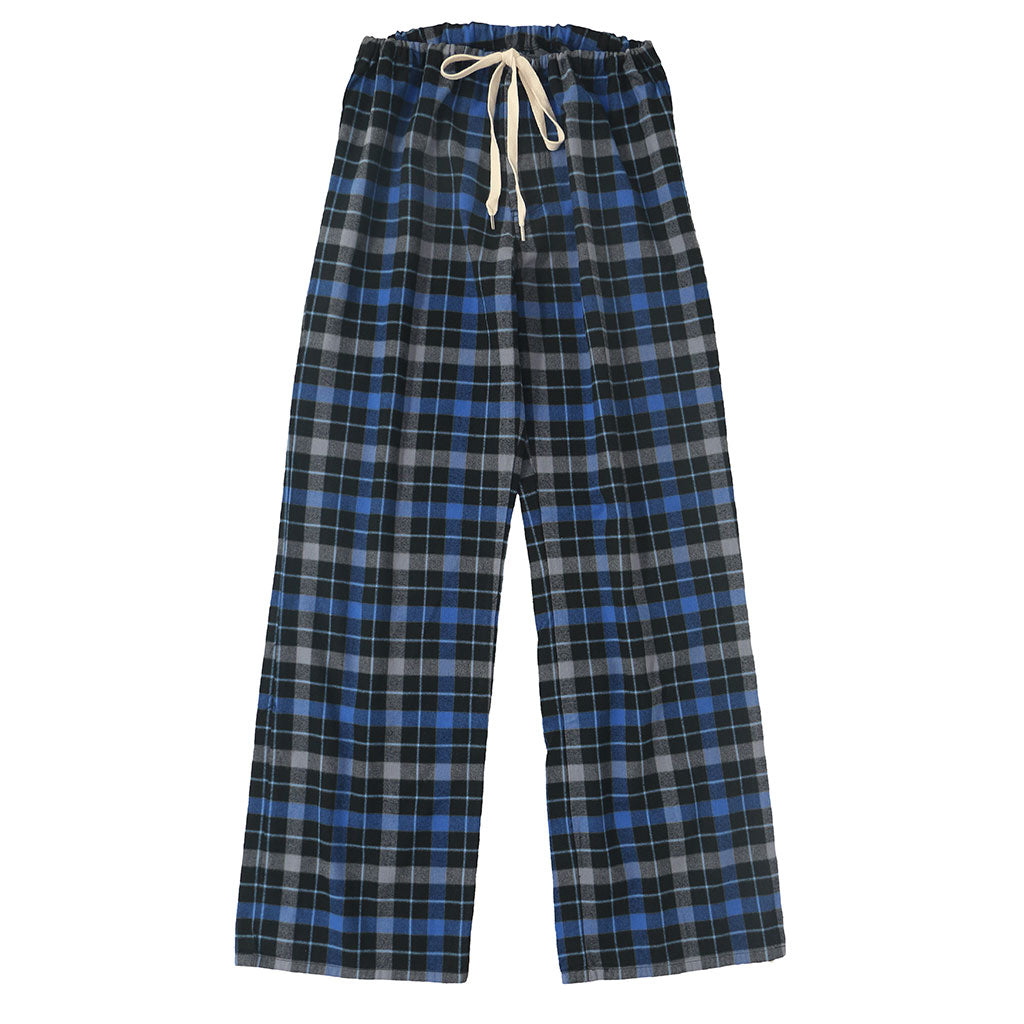 Pajama Lightweight Flannel Plaid - Blue