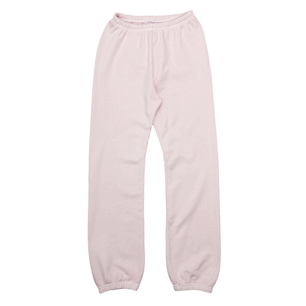 "17.5 oz Fleece 26"" Inseam ""Peace"" Sweatpants - PINK CLOVER"