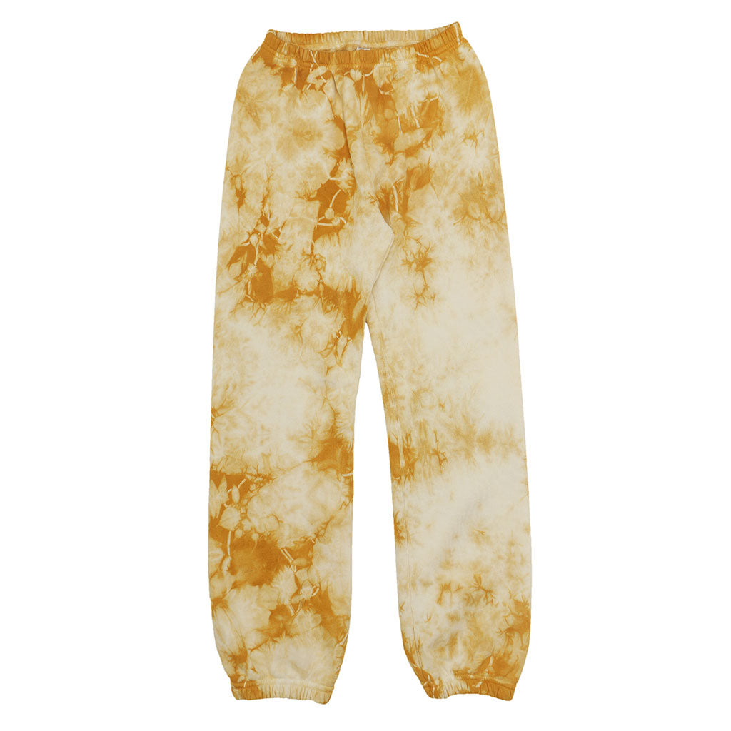 "17.5 oz Fleece 26"" Inseam ""Peace"" Sweatpants - ORANGE TIE DYE"