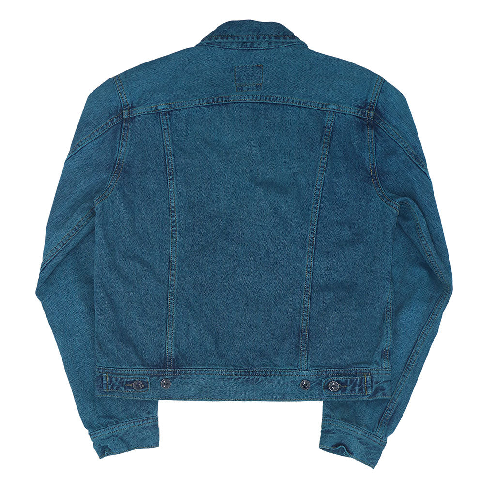 5 Pocket 12.4 oz Denim Ranch Jacket - Blue Memphis Wash