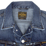 5 Pocket 12.4 oz Denim Ryder Jacket - Macon Wash