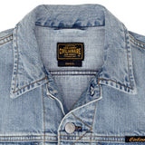 5 Pocket 12.4 oz Denim Ranch Vest - Memphis Wash