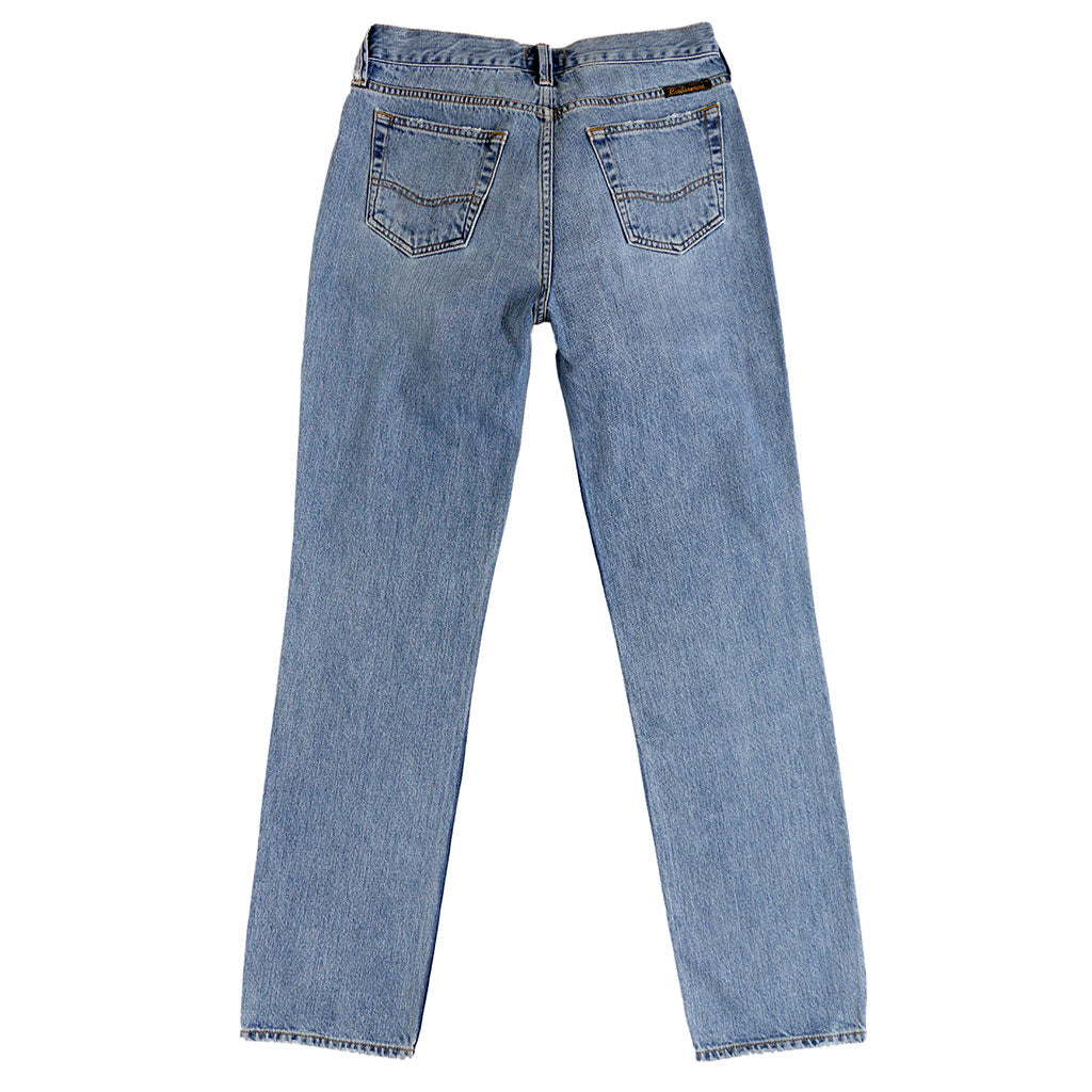 12.4 oz Denim Boyfriend Jean - Topanga Wash