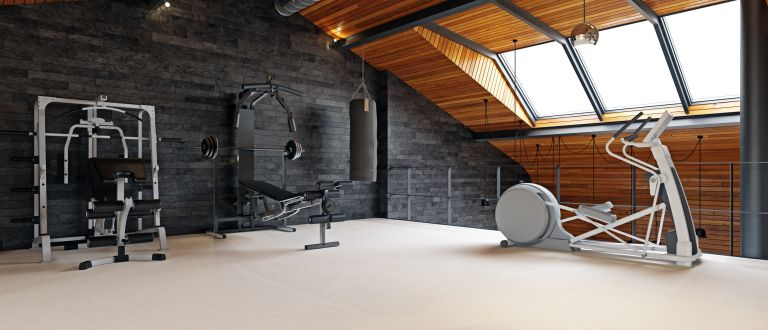 Home Gym that makes you feel comfortable