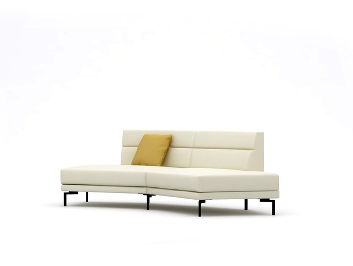 Amor - Angled Chaise 2 Seater