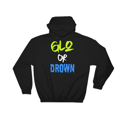 GLO OR DROWN HOODIE BY THE CHICAGLO KID