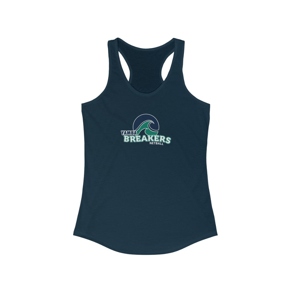 Yamba Breakers Netball - Race-back Tank Top