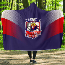 Load image into Gallery viewer, Kyogle Turkeys - Premium Hooded Team Blanket