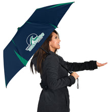 Load image into Gallery viewer, Yamba Breakers Netball - Push-Button Team Umbrella
