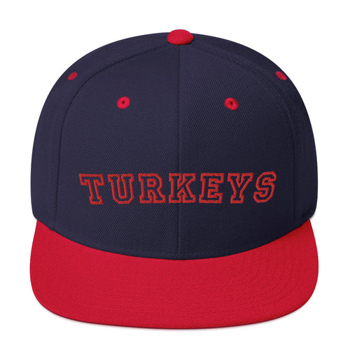 Kyogle Turkeys - Premium Embroidered wool-blend cap