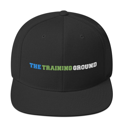 The Training Ground - Premium Embroidered Buccs wool-blend cap