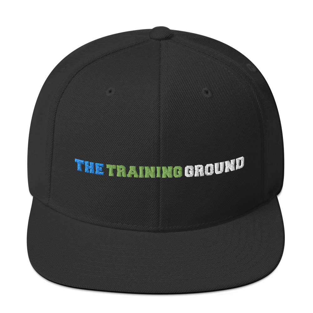 The Training Ground - Premium Embroidered wool-blend cap