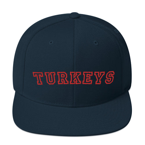 Kyogle Turkeys Touch Football - Premium Turkeys Embroidered wool-blend cap