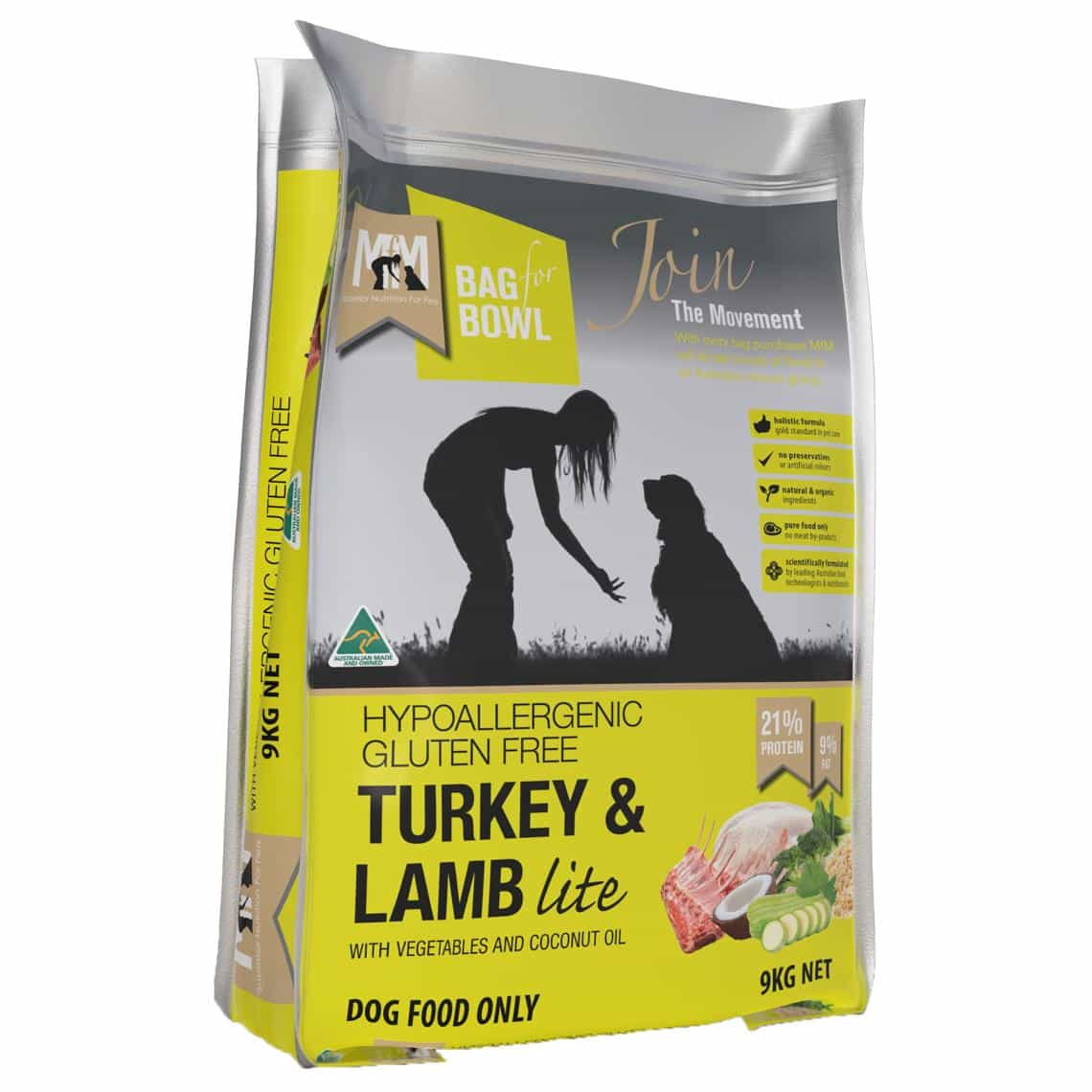 Meals For Mutts Turkey & Lamb Lite Dog Food