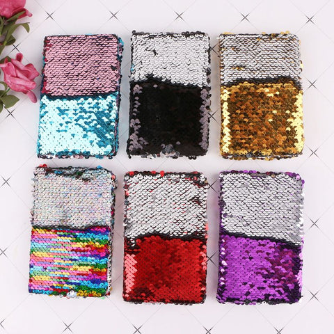 Fashion Sequins Notebook