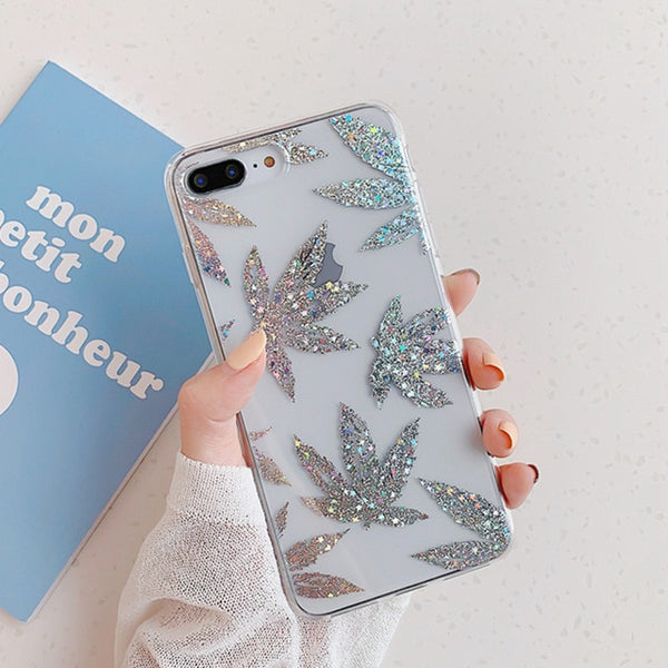Feuille Or Case For iPhone