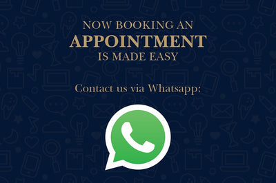 Make Appointment via Whatsapp