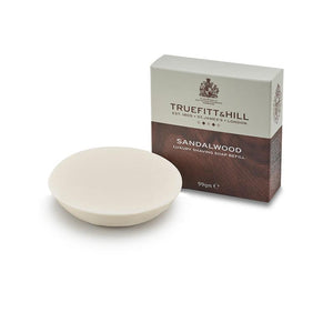 Sandalwood Luxury Shaving Soap Refill for Bowl