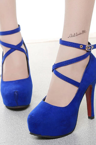 Plain Stiletto High Heels