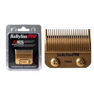 BaBylissPRO Replacement Hair Clipper Taper Blade Gold FX802G
