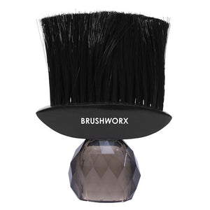 Brushworx Crystal Black Neck Brush
