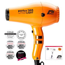 Load image into Gallery viewer, Parlux 385 Power Light Ceramic and Ionic Hair Dryer