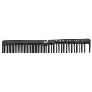 "Jaguar Ionic 6.75"" Cutting Rake Comb Black"