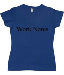 Work Notes Women's T-Shirt