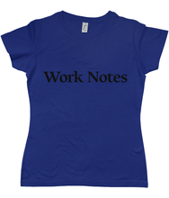Load image into Gallery viewer, Work Notes Women's T-Shirt