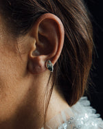 easy to wear stud earring everyday made in silver