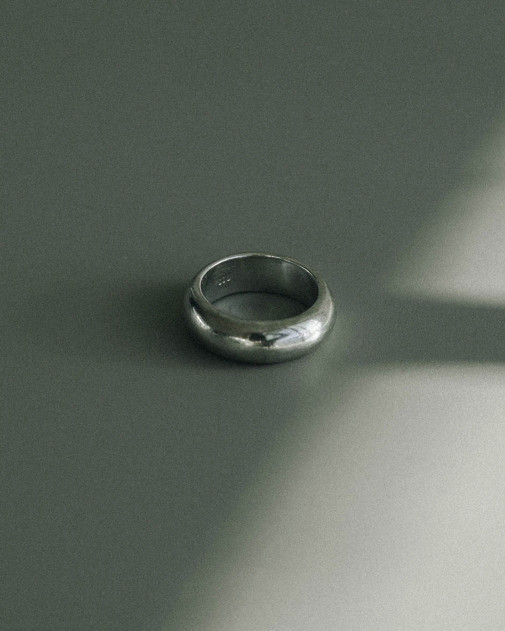 simple minimalist sterling silver ring made in toronto canada
