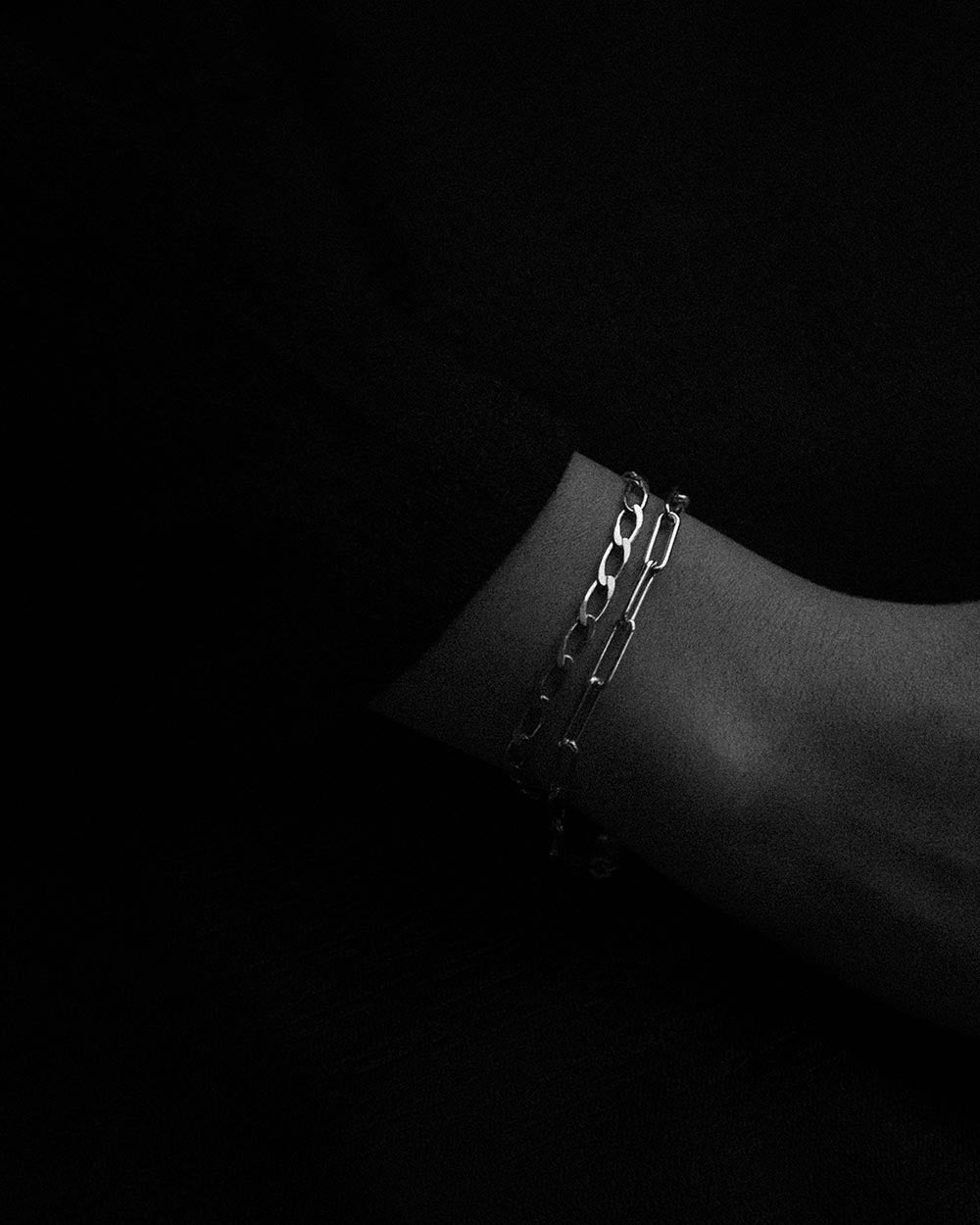 sterling silver chain bracelets for layering made in canada toronto