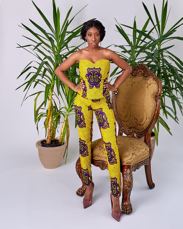 Nicoletta - Tunic-African Inspired garments-NBLCouture