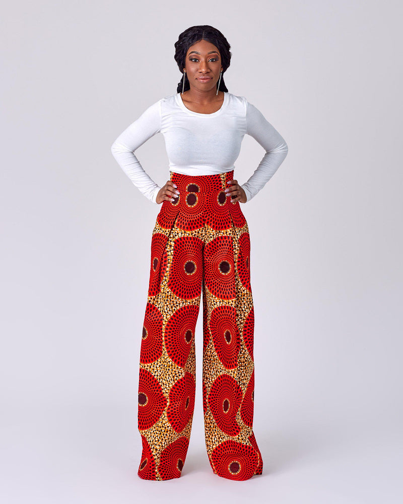 Wilfred - Wide Leg Pant-African Inspired garments-NBLCouture