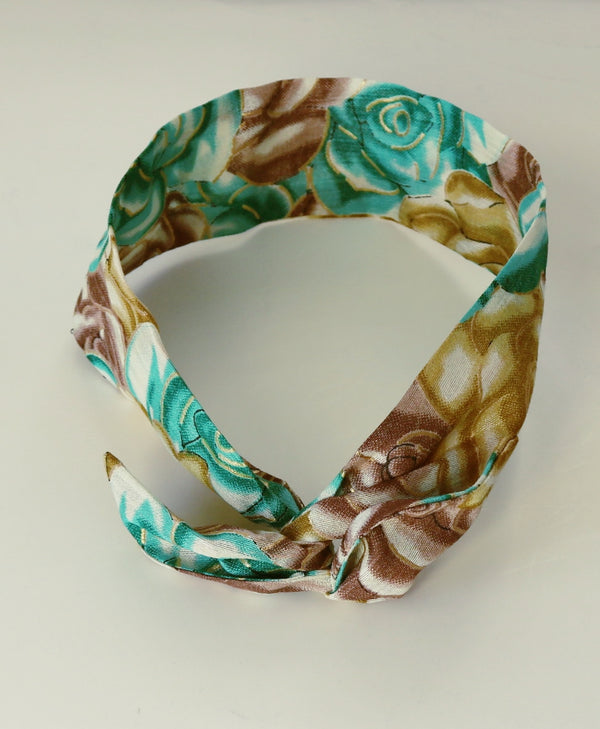 Teal - Wire Headband-NBLCouture