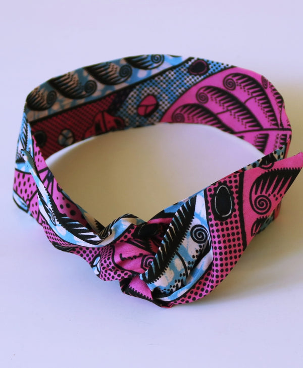 Pink - Wire Headband-NBLCouture