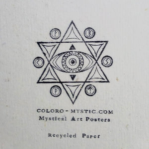 300g recycled paper  - coloro mystic