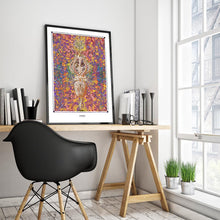 Laden Sie das Bild in den Galerie-Viewer, spiritual cosmic wall art