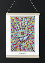 Load image into Gallery viewer, mystic psychedelic Visionary art poster for home decor