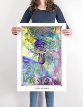 Laden Sie das Bild in den Galerie-Viewer, cosmic psychedelic mystic art poster for home decor - coloro mystic