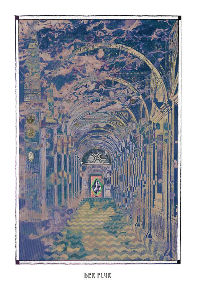 fantasy psychedelic hall art poster for home decor - coloro mystic