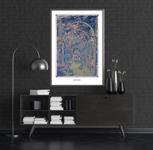 Load image into Gallery viewer, fantasy psychedelic hall art poster for home decor - coloro mystic