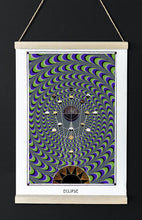 Load image into Gallery viewer, astronomy psychedelic geometry art poster for home decor
