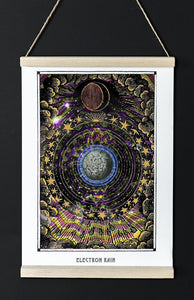 astronomy psychedelic art poster for home decor - coloro mystic