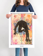 Load image into Gallery viewer, human holistic visionary art boho home decor art poster - coloro mystic