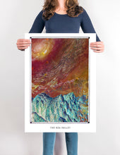 Load image into Gallery viewer, Surreal Mars landscape poster for your House and home office decor