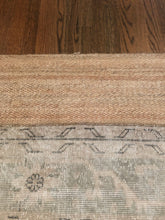 "Load image into Gallery viewer, Jute Rug Style 1 -  6'6""x9'6"""