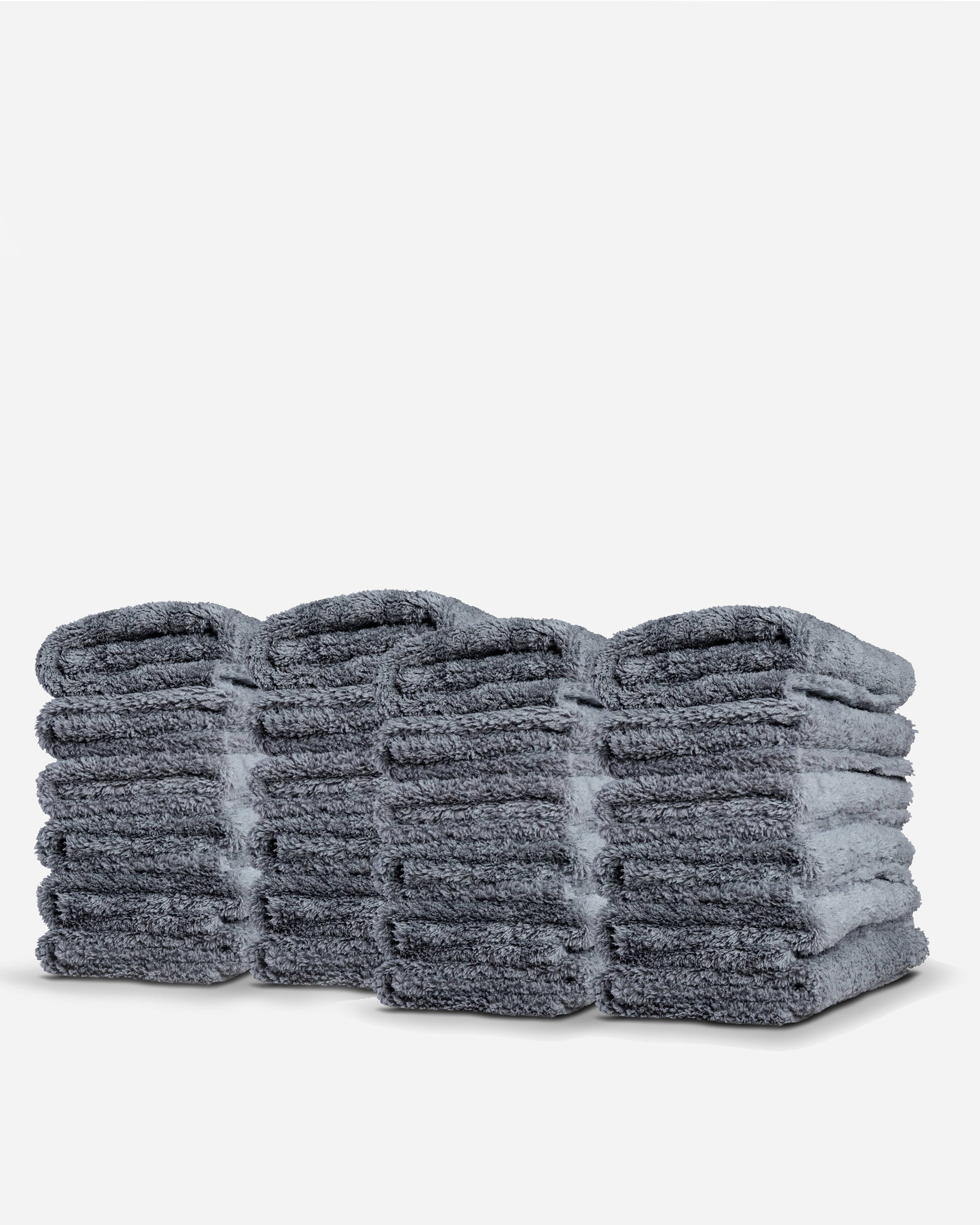 Adam's Borderless Gray Microfiber 24 Pack